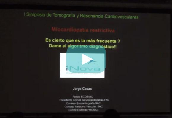 ¿Miocardiopatía restrictiva? ¿Es cierto que es más frecuente? Dr. Jorge Casas (iNova)